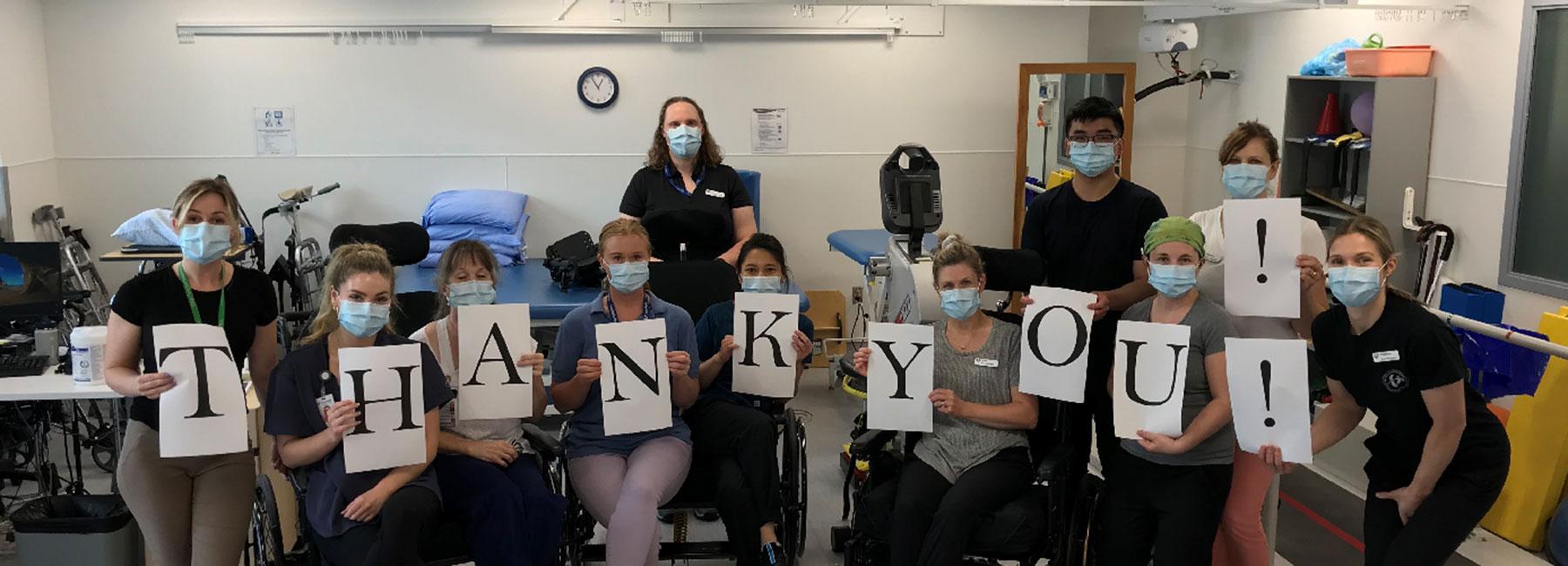 Rehab Department Receives Bariatric Wheelchairs